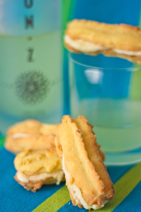 Limoncello finger biscuits