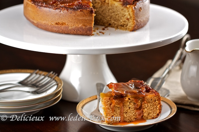 Butterscotch Apple Cake Recipe